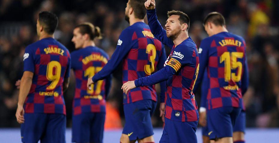 Lionel Messi scorede hattrick i Barcelona-storsejr