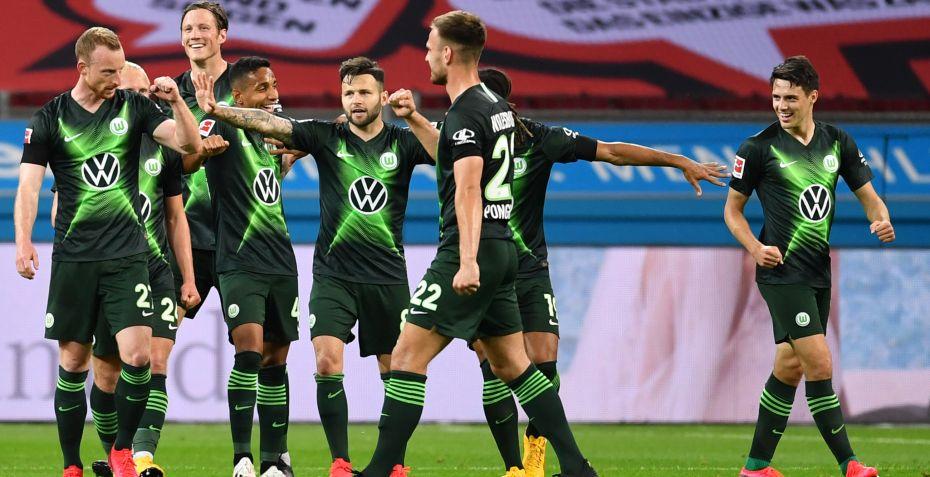 Wolfsburg satte stopper for flot Leverkusen-stime