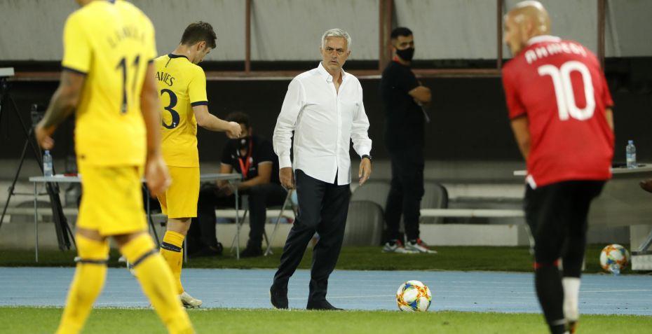 Europa League: Mourinho får skiftet målstolpe