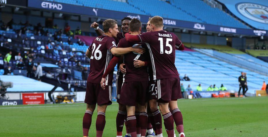 Hattrick-helten Jamie Vardy sænker Manchester City