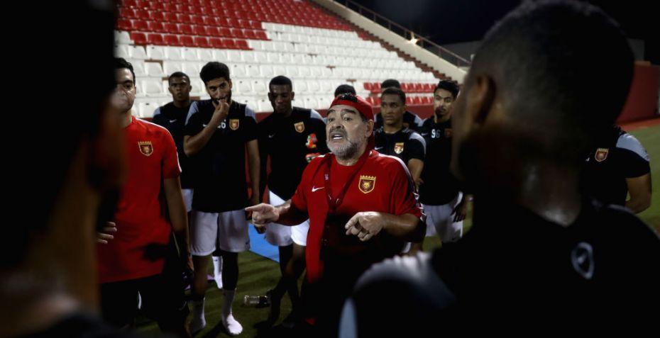 Diego Maradona: Da Tipsbladet mødte verdensstjernen Maradona