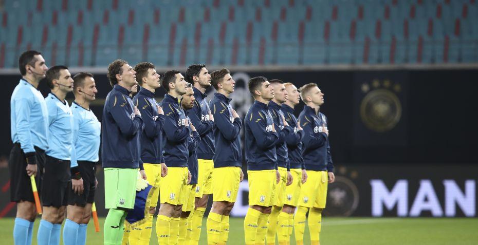 Ukraine taberdømmes og rykker ned i Nations League