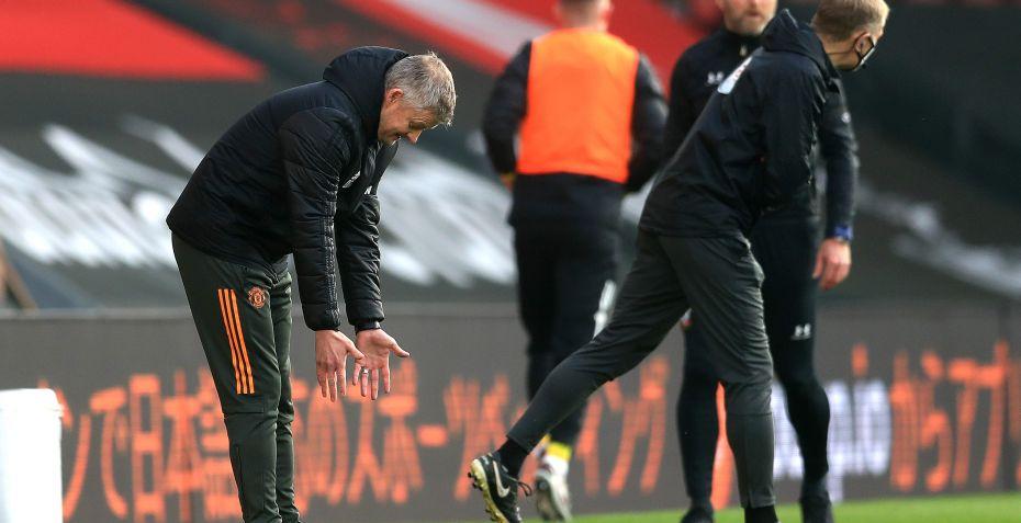 Frustreret United-træner uenig i udvisning