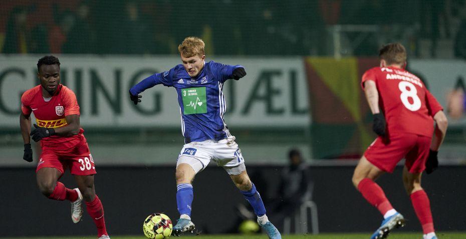 Lyngby-spiller skifter til 1. divisionsklub