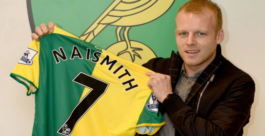 Officielt: Norwich henter Steven Naismith