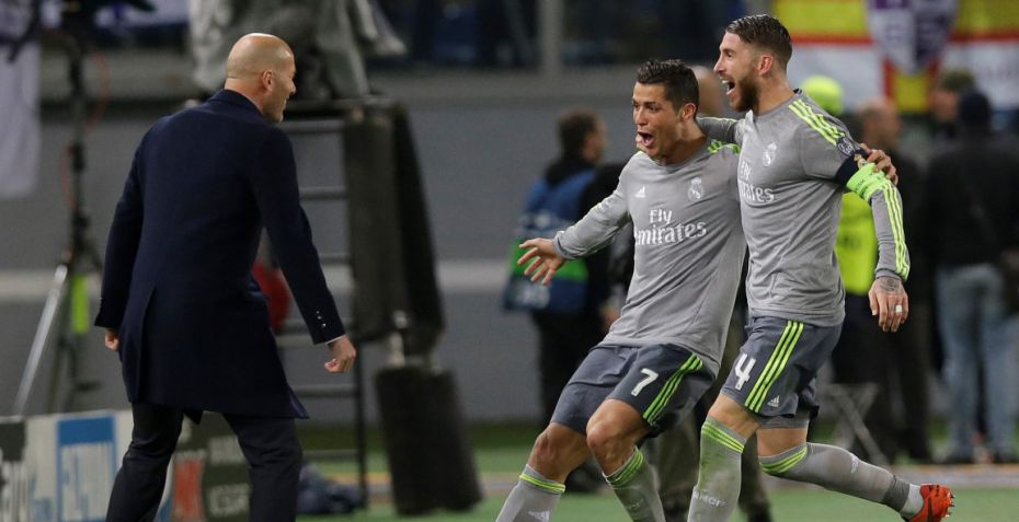 TV: Ronaldo header Real Madrid foran