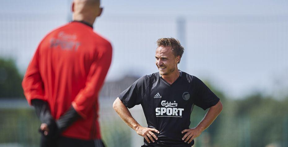 Pierre Bengtsson kom for første gang i aktion efter at være vendt tilbage til ... - Tipsbladet