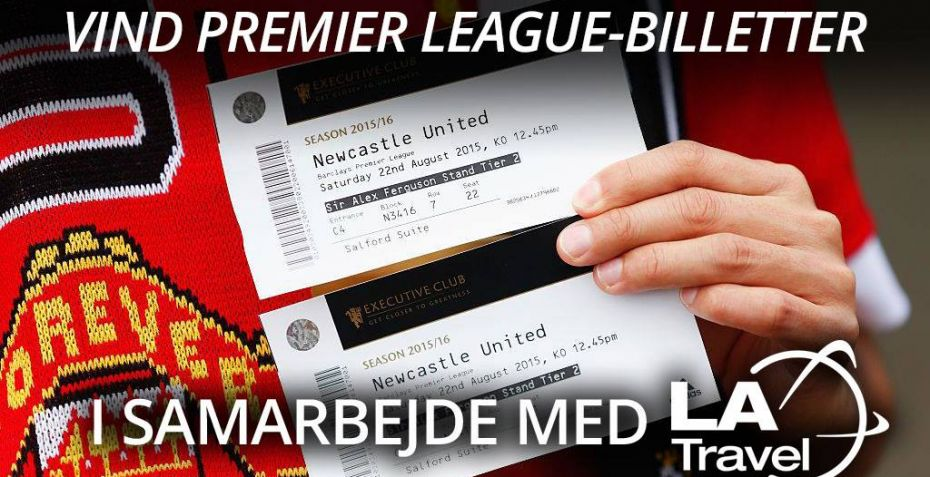 Konkurrence: Vind Premier League-billetter