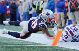 Spilforslag til NFL: James White får en stor dag