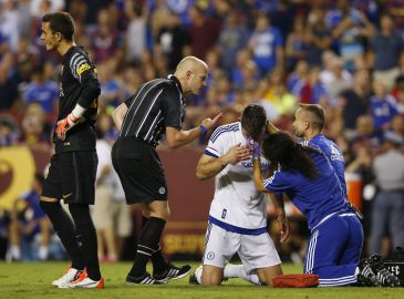 Diego Costa og Cahill tvivlsomme for Chelsea til Community Shield