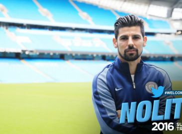 Officielt: Manchester City henter Nolito