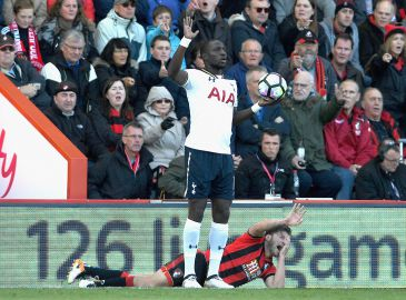 Bournemouth-midtbane tilgiver Sissoko for albue