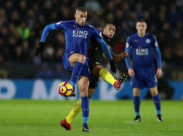 Video: Se Leicester nedlægge Manchester City