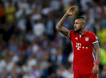 TV: Se stor Vidal-brøler sikre chok-start for Bayern