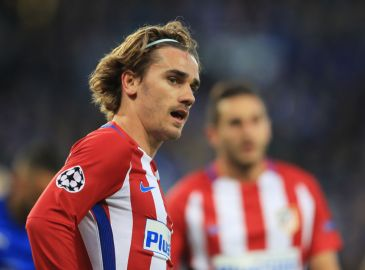 Griezmann matchvinder for Atletico Madrid