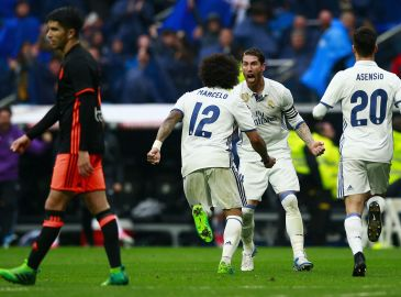 TV: Se Real Madrid i dramatisk sejr over Valencia