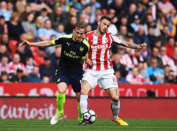 Officielt: West Ham henter Arnautovic i Stoke