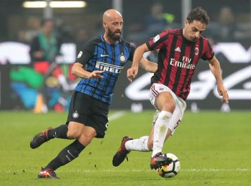 Inter sejrer over Milan i intens derbyafslutning