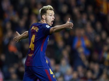 Rakitic: Vi er kommet os over Neymar