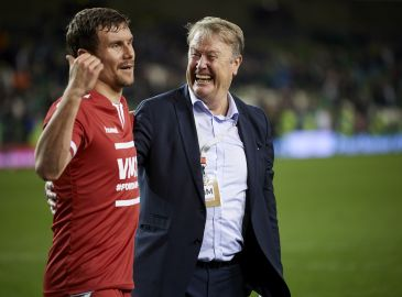 Hareide er nervøs for skadet Bjelland forud for VM