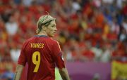 Spanish forward Fernando Torres is pictured during the Euro 2012 championships football match Spain vs Italy on June 10, 2012 at the Gdansk Arena. AFP PHOTO / PIERRE-PHILIPPE MARCOU